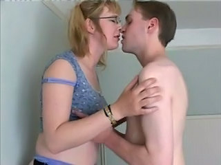 Glasses Kissing