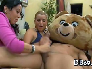 Funny Handjob  Party