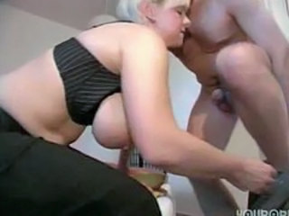 Big Tits European German Mature Natural Small cock Wife