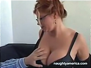 Big Tits Glasses  Teacher