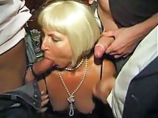 Amateur  Blowjob Gangbang Mature Party