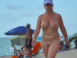 Beach  Natural Nudist Outdoor Public Voyeur
