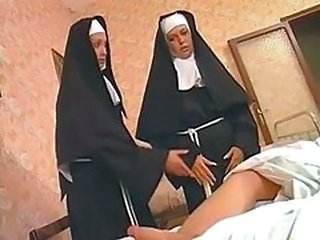 Nun Threesome Uniform Vintage