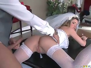 Ass  Bride Hardcore  Stockings
