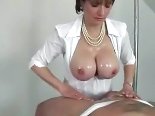 Big Tits  Natural Oiled Tits job