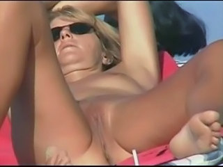 Beach  Nudist Outdoor Pussy Voyeur
