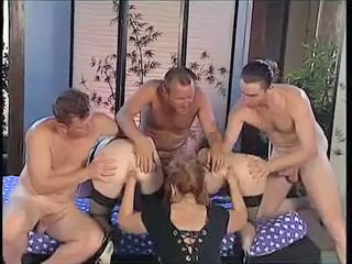 Fisting Groupsex  Orgy Stockings