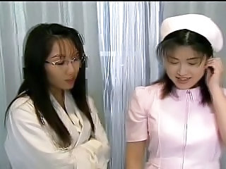 Asian Doctor Glasses Japanese  Nurse Teen Uniform