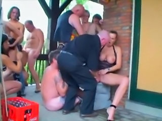 Groupsex  Orgy Outdoor