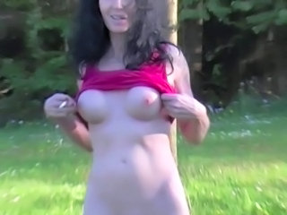Amateur  Outdoor Public Smoking