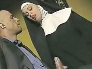 Handjob  Nun Uniform Vintage
