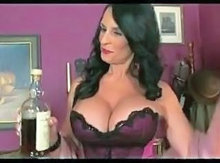 Big Tits Drunk Lingerie Mature