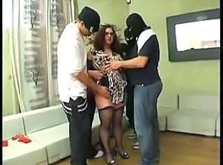 Amateur Chubby Gangbang  Stockings