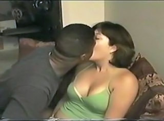 Amateur Chubby Cuckold Homemade Interracial Kissing  Wife
