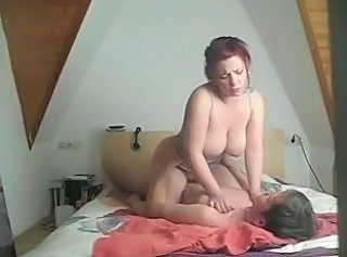 Big Tits European German Homemade  Riding