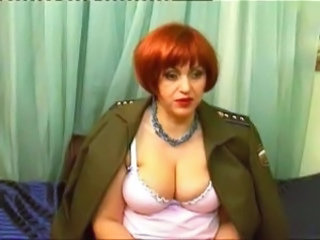 Mature Russian Uniform Webcam