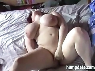 Big Tits European German Masturbating Mature