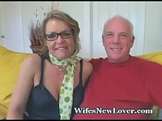 Cuckold Glasses Mature Older Wife