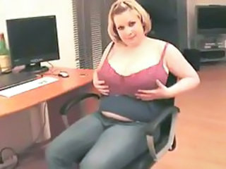 Chubby Mature Office