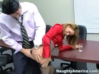 Clothed Hardcore  Office Pornstar Secretary