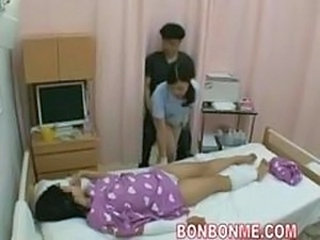 Asian Japanese  Nurse Wife