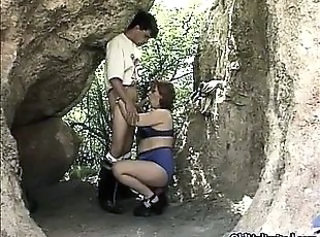 Blowjob Mature Outdoor