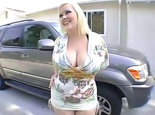 Big Tits Blonde  Natural Outdoor