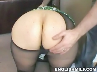 Ass Doggystyle Mature Pantyhose