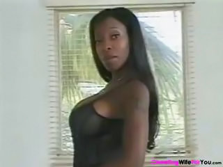 Big Tits Cute Ebony  Tattoo
