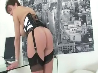 Ass Corset  Stockings
