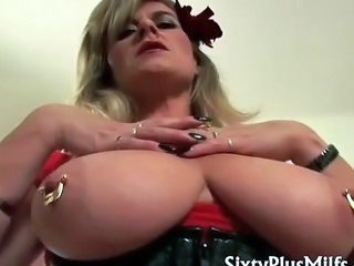 Big Tits Mature Piercing