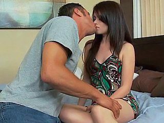 Cute Kissing Teen Wife