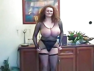 Big Tits Fishnet  Panty Stockings Vintage
