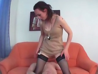 European German Mature Stockings