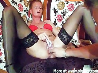 Fisting Mature Stockings Wife