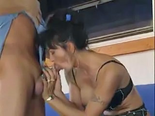 Blowjob European Italian Lingerie Mature