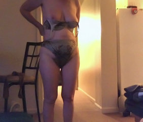 Amateur Homemade Lingerie Mature