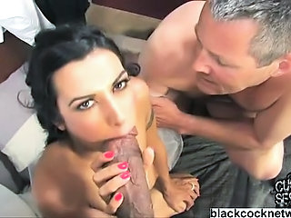 Blowjob Cuckold Interracial Wife
