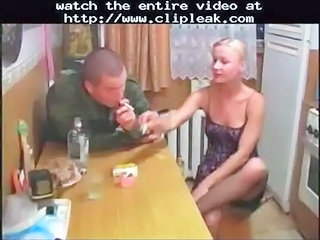 Amateur Army Drunk Kitchen  Smoking