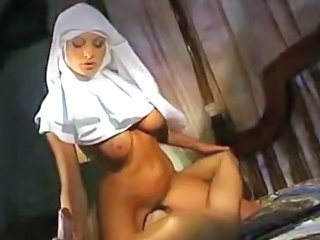 European Facesitting Italian  Nun Uniform