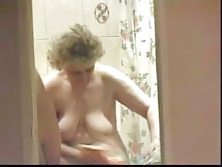 Bathroom Granny Russian Voyeur