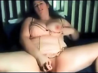 Lingerie Masturbating Toy Webcam