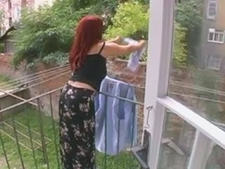 Outdoor Redhead Wife