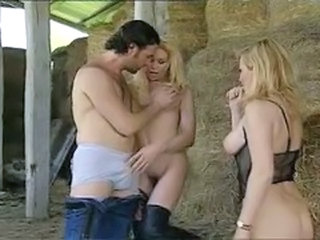 Farm  Pornstar Threesome