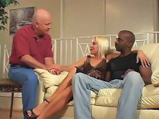 Blonde Cuckold Interracial  Wife