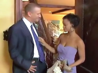 Bride Ebony Interracial