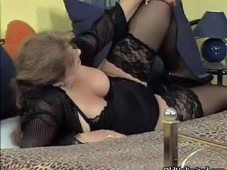 Chubby Lingerie Mature Stockings