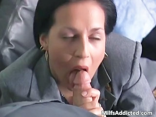 Blowjob Clothed  Secretary