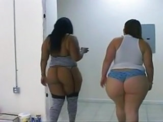 Ass  Ebony Interracial