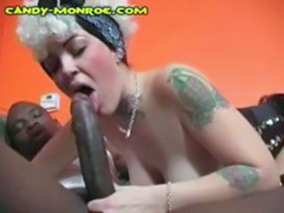 Blowjob Interracial  Tattoo